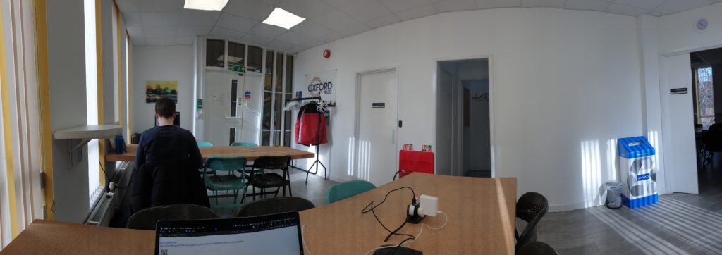 An Oxford coworking space.