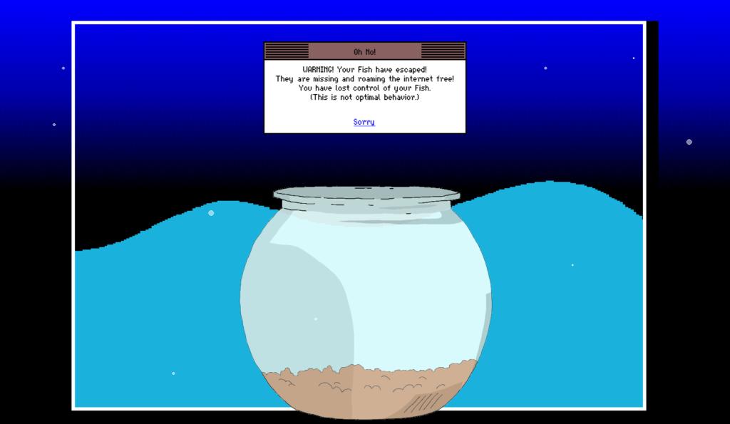 Mackerelmedia Fish reports: WARNING! Your Fish have escaped!
