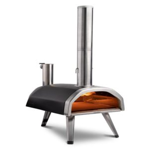 Ooni Fyra portable wood-fired pizza oven.