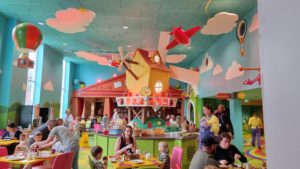 The Windmill restaurant at the CBeebies Land Hotel