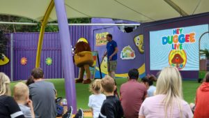Duggee at Alton Towers