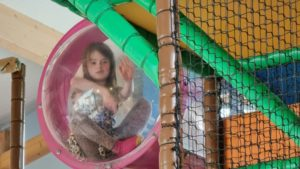 Soft play dome.