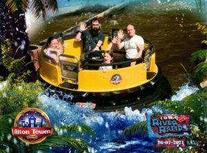 Ride photo from the Congo River Rapids